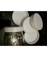 Wide-Mouth Canning jar Plastic Storage Caps / Lids,Reusable  8-Count  - $4.94
