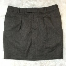 Gap Women's Classic Knee Length A-Line Professional Gray Brown Skirt Size 14 - $14.84