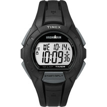TIMEX IRONMAN ESSENTIAL 10 FULL-SIZE LAP - BLACK - $39.95