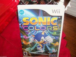 Sonic Colors (Wii, 2010) EUC - $29.88
