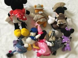 Disney Eeyore Pooh Minnie Mickey Plush Lot ... And Donald Too! image 7