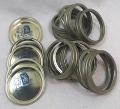 NN97 Lot Of 11 - Ball Mason Jar 125 Lid Lot - $12.86