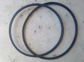 Nuovo 2 Cintura Set Harbor Freight Attrezzi Centrale Macchinario 30697 - $19.11