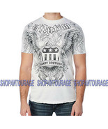 Affliction Couture Service A6031 New Short Sleeve Graphic Eagle T-shirt ... - $38.57