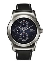 LG G Smart Watch R Urbane W150 Android Wear Watch 4GB 1.3 P-OLED 1.2GHz (BLACK) image 1