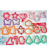 22p Lot Wilton Comfort Grip Cookie Cutters Christmas Easter Halloween Fa... - $76.63