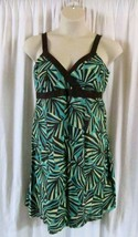R&K Originals Petite Dress 16P Spaghetti Strap Knee Length Empire Waist ... - $12.47