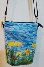 California Poppies - 3 Pocket Zippered Crossbody Bag image 3