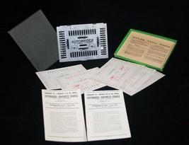 AutoBridge Vintage 1957 Deluxe Pocket Model Play Yourself Bridge Game No... - $19.79