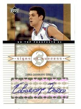 2003-04 Upper Deck Top Prospects - Signs of Success Inserts - Lot of 2 - $5.93