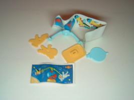 Kinder - K97 96 Mobile: Astronaut & shuttle + paper + sticker - surprise egg - $1.50