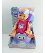 "My Sweet Love Baby Doll with Bottle Bib12"" W/seat - $16.82"