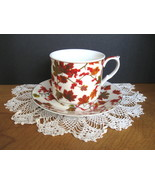 Autumn Leaves Cup and Saucer Set - Four (4) Available - $8.00
