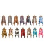 Lavello Designer Chiffon Vest Shawl Multi Way's To Wear Choose From 18 S... - $16.82+