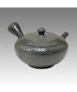Tokoname Kyusu teapot -JUSEN -Glaze Foaming 150cc/ml -ceramic fine mesh ... - $429.15