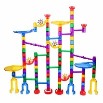 122 Pcs Marble Run Set Toys for 3 4 5 6 7 8 Year Old Boys Girls, Imaginarium Con