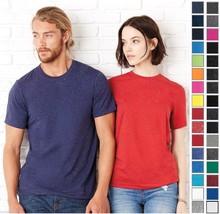 Bella+Canvas Unisex Crew Poly Cotton T-Shirt Tee C3650 3650-32 COLORS-NEW! - $5.05+