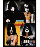 KISS Band Custom 24 x 35 Japan Dynasty Promo Poster - Original Style w Red Lines - $50.00