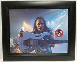 Steve Vai custom framed guitar pick display J1 - $75.95
