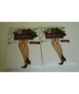 2 Hanes Silk reflections silky sheer pantyhose size IJ Style 717 Barely ... - $14.80