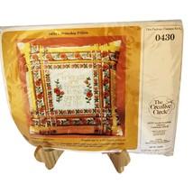 Creative Circle Friendship Pillow Top Kit 0430 Vintage 70s Colors Oranges - $21.95