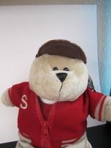 Starbucks Back To School Boy, Bearista  NWT / Original /2004 Plush Stuffed Bear - $14.50
