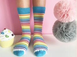 Rainbow Socks - $8.40