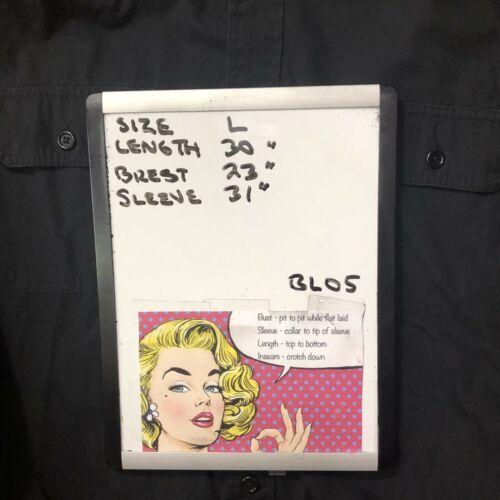 Polo Ralph Lauren Men's Black Button Front Shirt L image 4