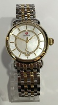 Michele Elegance Mother Of Pearl Dial Two-tone Csx Watch MWW03T000064 - $899.00