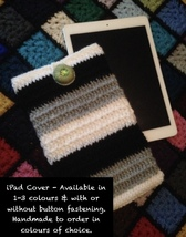 Handmade To Order - iPad / Tablet Cover - $68.09