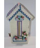 Plastic Canvas Kleenex Tissue Cover House Vintage - $13.07