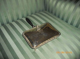 EPCA Silverplate by Poole Silent Butler or Crumb Catcher Wood Handle - $19.99