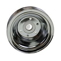 Crankshaft Pulley Triple-Groove LWP Long Water Pump For Chevy SBC 262 283 400 image 4