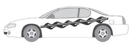 VINYL GRAPHIC #A798 SIDE DECAL AUTO SUV  VEHICLE CROSS OVER SWOOSH TRUCK... - $70.19