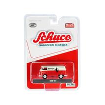 Volkswagen T1 Panel Bus Ferrari Automobiles Red and Cream European Class... - $22.71