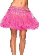 NEW LEG AVENUE WOMEN'S SEXY TUTU DANCE PETTICOAT SKIRT 8990 ONE SIZE HOT PINK image 1