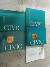 1996 honda civic service repair workshop manual set with etm oem factory - $79.68