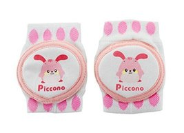 1 Pairs Pure Cotton Crawling Baby Knee Pads Kids Knee Pads Protector PINK