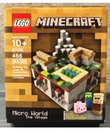 Lego Minecraft The Village Micro World CUUSOO Set #21105 NEW - 2013 - $64.95