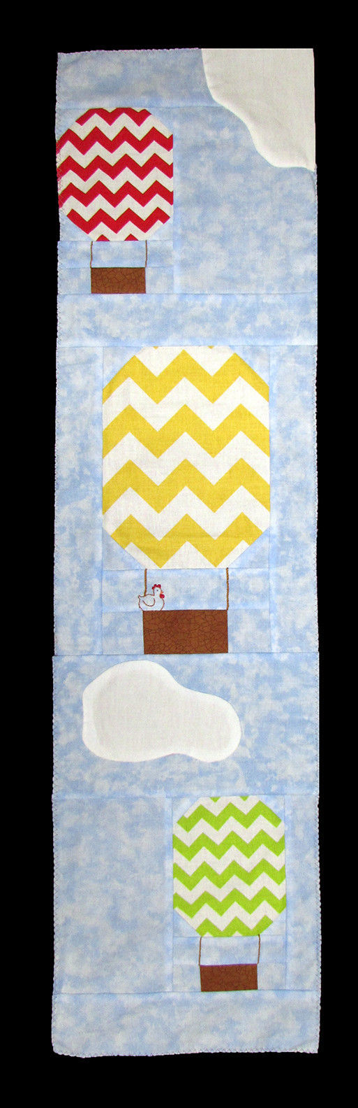 "Row by Row 2017 ""On the Go"" Hot Air Balloon Quilt- Sold by the Kit M401.07 (Z) - $12.97"