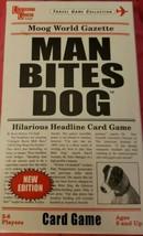 Man Bites Dog The Hilarious Headline Card Game Fun Party Family 8+ 2-6 Players - $13.07
