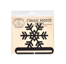 Clásico Detalles Copo de Nieve 15.2cm Carbón Dividido Fondo Manualidades... - $13.18