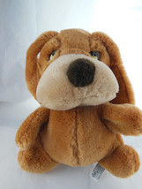 "Russ Berrie Dog Hand Puppet Plush SAMUEL Long Eared Sad eyed Puppy 11"" V... - $13.26"