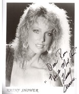 KATHY SHOWER  8 X 10 BW PHOTO SIGNED VERY RARE - $49.95