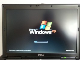 Dell Laptop D630 Duo Core Windows XP PRO RS232 Serial Port Wifi Microsof... - $111.82