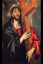 Christ carrying the cross by El Greco #2 - Art Print - $19.99+