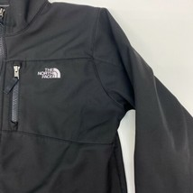 The North Face Zip Up Jacket Youth XL Long Sleeve Black Zip Pockets Poly... - $24.95
