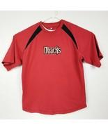 MLB Arizona Diamondbacks Men's Red Short Sleeve Embroidered Shirt Size L... - £16.10 GBP