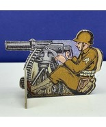 Bomber Raid vtg board game piece 1943 Fairchild toy soldier military mac... - $19.69