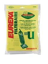 Eureka Vacuum Bag Style U Fits Bravo Pack / 3 - $3.91